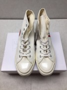 CDG Play x Converse 1970s Bigger by a yard High help Rice white