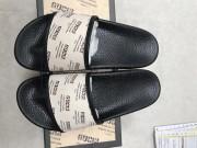 Gucci Logo Print slide sandal