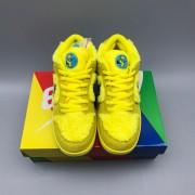 Nike SB Dunk Low Grateful Dead Bears Opti Yellow Godkiller CJ5378-700