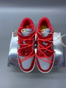 Offwhite x Dunk Low 'University Red' Godkiller CT0856 600